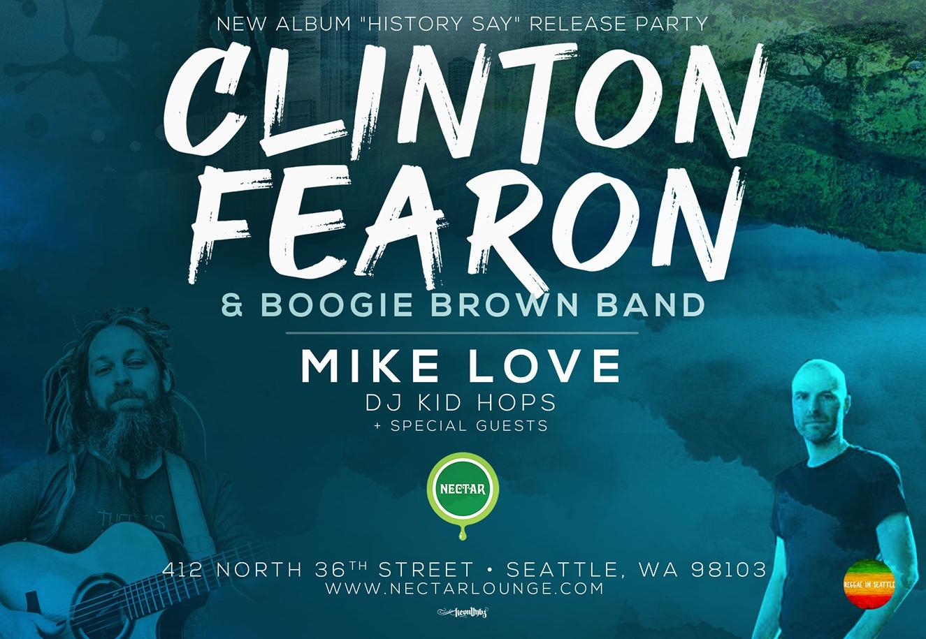 Clinton Fearon History Say