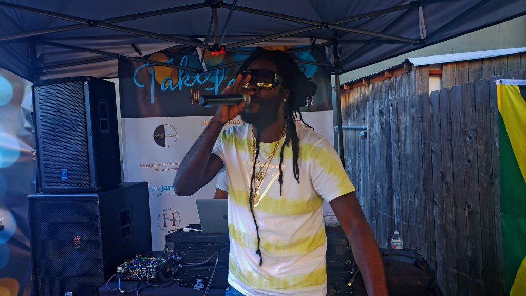 Jah Bouks at Album Release Party