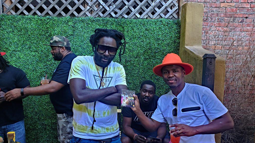 Jah bouks with Fan