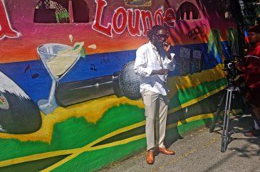 Jah Bouks Outside